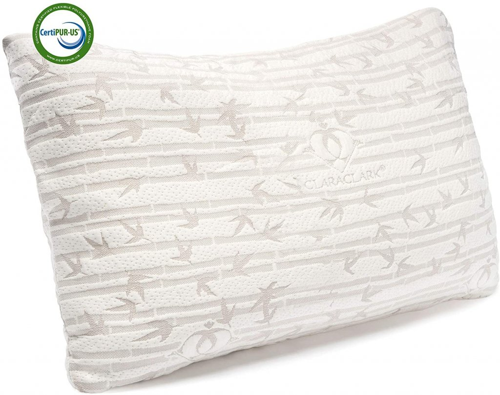 Clara Clark Shredded Memory Foam Pillows