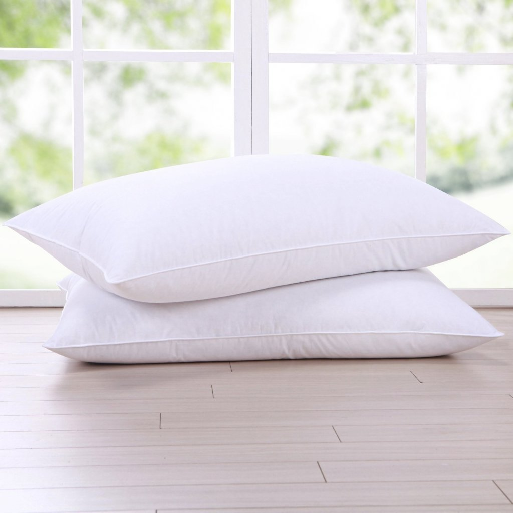 Puredown Goose Feather and Down Pillow
